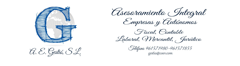 A.E. Gestió, S.L. Asesoramiento Integral de Empresas y Autónomos